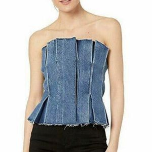 Levi's Made & Crafted Denim Corset Top